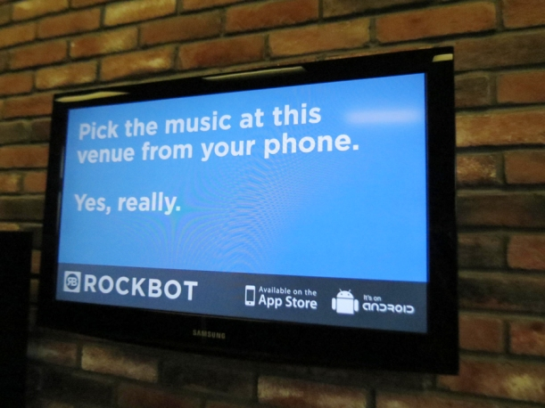 This seriously rocks! Down with Muzak, up with RockBot!