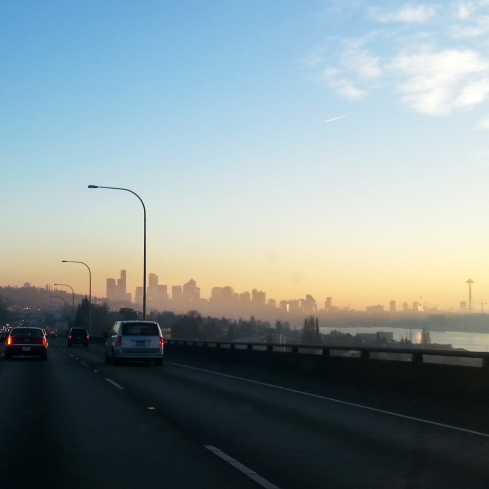 Seattle's beauty shines through this chilly Thanksgiving Day!