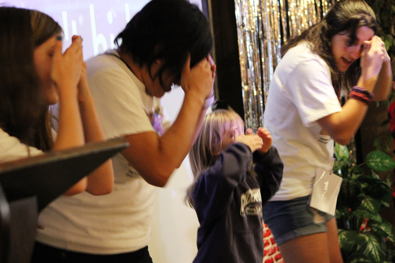With the new songs we've introduced, we have more kids coming up asking if they can dance with us in front of everyone because they know the moves! I love seeing them so excited for praise and worship time!