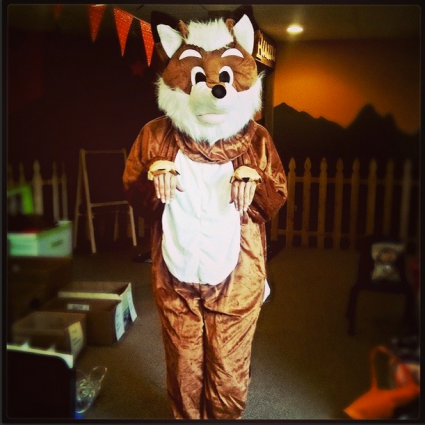 Our WHAT DOES THE FOX SAY dance was a total hit! Oh what fun it is to answer life's biggest questions. ;)