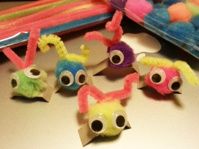 Today's #DoOverBook Challenge Craft: Some fuzzy minion friends to share with my real friends!